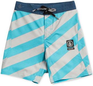 Volcom Stripey Jammer Board Shorts, Big Boys (8-20) $40 thestylecure.com