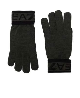 Ea7 Train Visibility Gloves Colour: BLACK, Size: MEDIUM