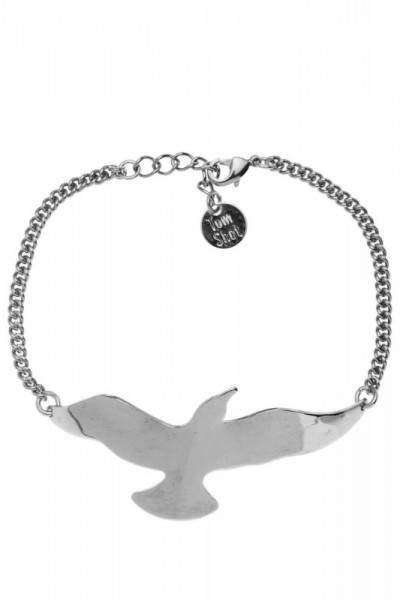 Styleserver DE Tomshot Armband mit Möwe versilbert