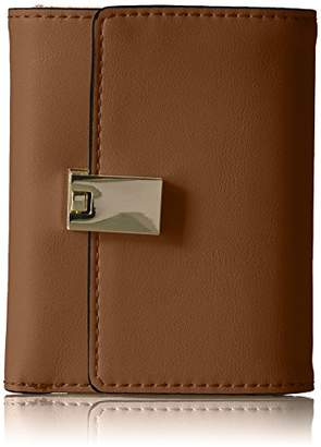 Nine West Women's Table Treasurs Mod Trifold Checkbook Cover