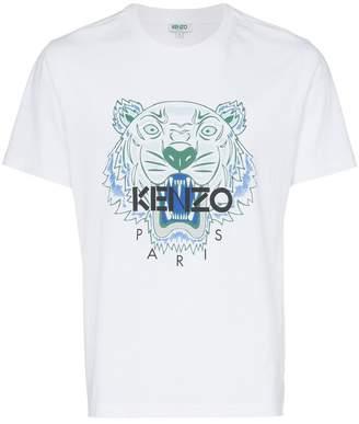 Kenzo cotton Tiger logo T-shirt