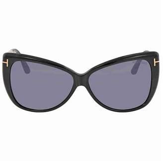 702a8c63ba at Amazon Canada · Tom Ford FT0512 Reveka Sunglasses 59 01C Shiny Black  Smoke Mirror