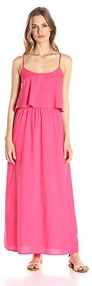 Lark & Ro Women's Tiered Top Maxi Dress