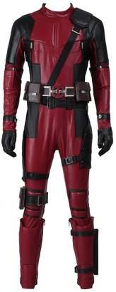 Wilson CosplayDiy Men's Costume Suit for Deluxe Deadpool Wade Cosplay L