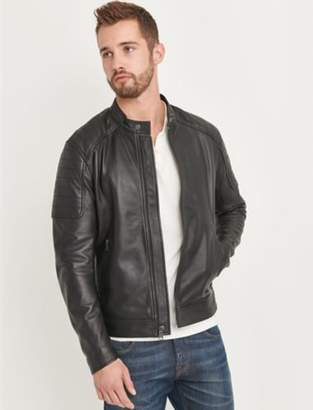 Lucky Brand CLEAN MOTO PANEL JACKET
