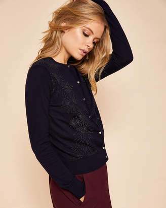 Ted Baker HYCYNTH Stardust cashmere-blend cardigan