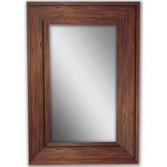 PTM Natural Brown Bone Wood Mirror