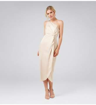 Ever New Vyla Petite One-Shoulder Twist Dress