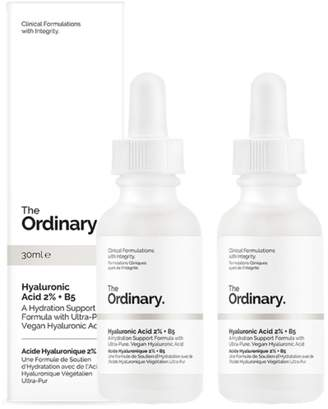 The Ordinary NEW Hyaluronic Acid 2% + B5 [Double Pack] 2 X 30ml Womens Skin Care