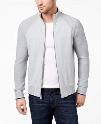 Michael Kors Men's Textured Block Track Jacket