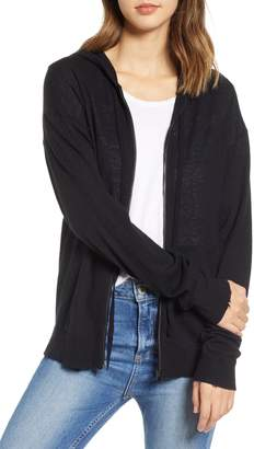 Zadig & Voltaire Sixtine Bis Cashmere Zip Sweater Hoodie