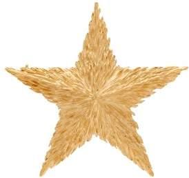 Saint Laurent Star Brooch - Womens - Gold