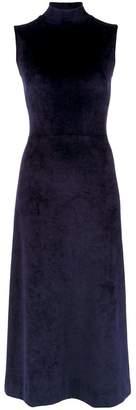 OSKLEN velvet sleeveless gown