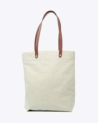 Nisolo Canvas Tote Seafoam Green
