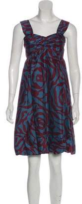 Marc by Marc Jacobs Printed Mini Dress