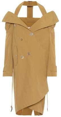 Balenciaga Cotton-blend trench coat