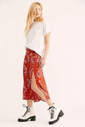 Retro Love Midi Skirt