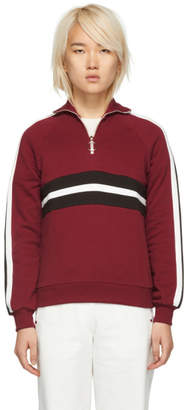 Harmony Burgundy Sidonie Zip-Up Sweater