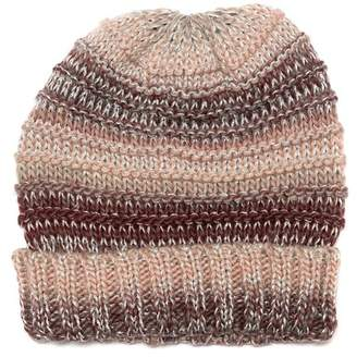 Vince Camuto Knit Striped Beanie