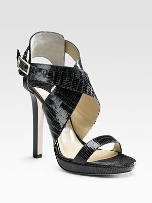 Jimmy Choo Billie Ankle-Strap Sandals