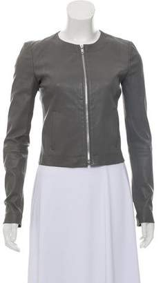 Elizabeth and James Leather Casual Jacket