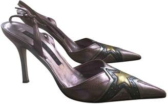 Pura Lopez Multicolour Leather Heels