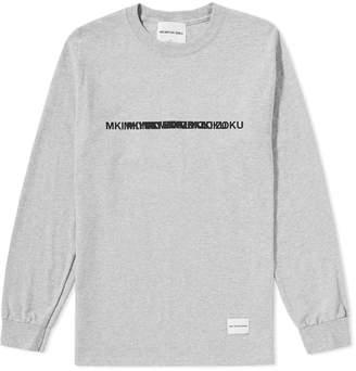 Mki MKI Long Sleeve Layered Logo Tee
