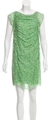 3.1 Phillip Lim Floral Patterned Silk Dress