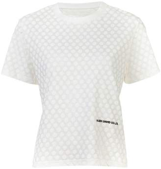 Julien David polka dot print T-shirt