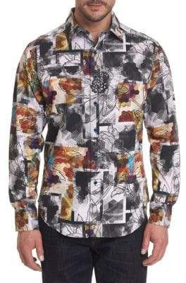 Robert Graham Arbor Lake Printed Button-Down Shirt