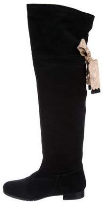 O Jour Suede Knee-High Boots