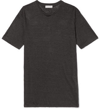 Etro Slub Linen T-Shirt