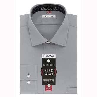 Van Heusen Flex Collar Dress Long Sleeve Shirt