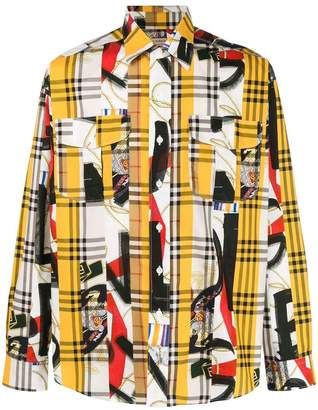 Burberry Archive Scarf print shirt