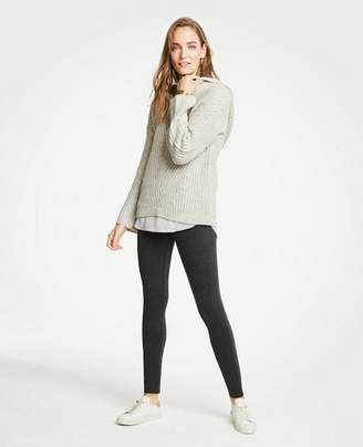 Ann Taylor Tall Ponte Leggings
