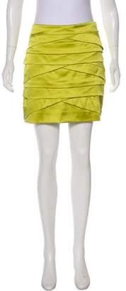 Diane von Furstenberg Silk-Blend Mini Skirt
