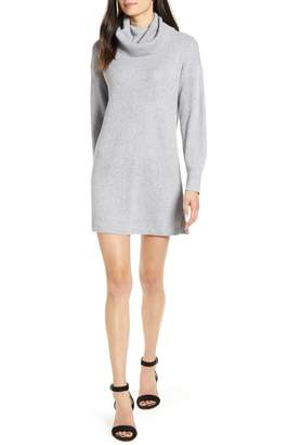 Cupcakes And Cashmere Kiara Turtleneck Sweater Dress