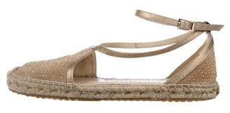 Jimmy Choo Studded Espadrille Sandals