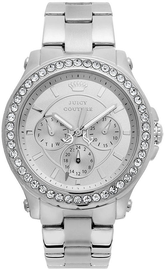 Juicy CoutureJuicy Couture Watch, Women's Pedigree Stainless Steel Bracelet 38mm 1901048