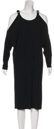 Michael Kors Cutout-Accented Midi Dress