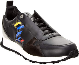 Fendi Leather & Suede Sneaker