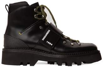 DSQUARED2 Hiking Leather Ankle Boots