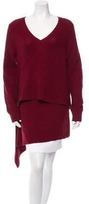 Derek Lam Cashmere Asymmetrical Sweater w/ Tags