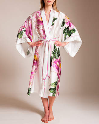 Josie Natori Clair De Lune Long Robe