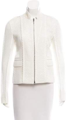Reed Krakoff Semi-Sheer Zip-Up Jacket