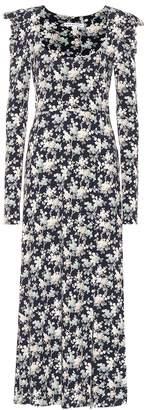 Les Rêveries Floral maxi dress