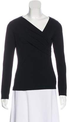 L'Agence Jersey Long Sleeve Top