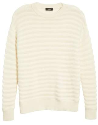 Theory Novelty Stripe Cashmere Sweater