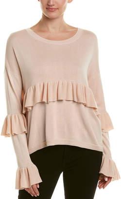 Cinq à Sept Phillipa Silk & Cashmere-Blend Sweater