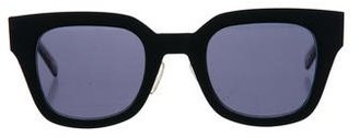 Celine Matte Wayfarer Sunglasses